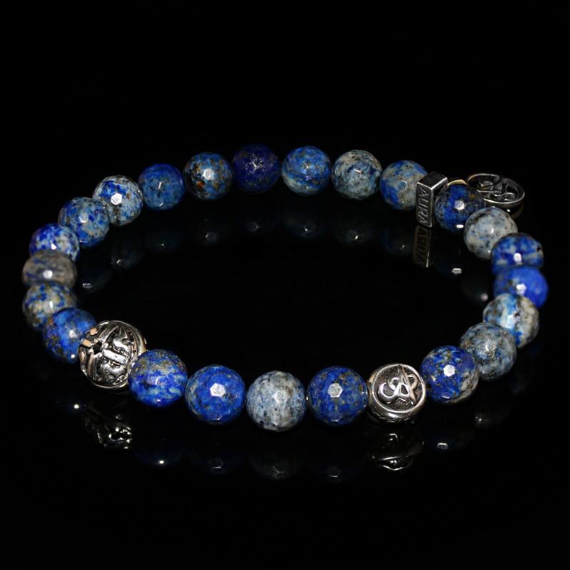 blue lapis lazuli bracelet intuition self esteem. Black Bedroom Furniture Sets. Home Design Ideas
