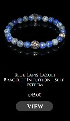Blue Lapis Lazuli Bracelet Intuition - Self-esteem