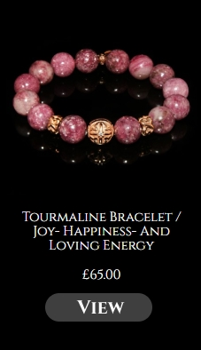 Tourmaline Bracelet / Joy- Happiness- And Loving Energy