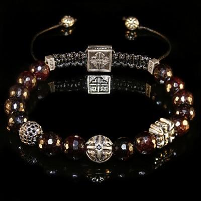 Garnet Bracelet / passion-creativity-determination