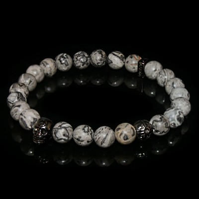 Jasper - Picasso Bracelet  / Creativity -Ambition- Strength